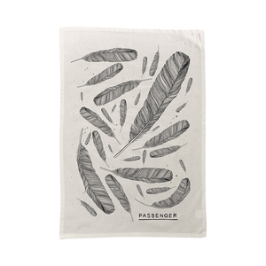 Young as the Morning Old as the Sea | Feather Tea Towel