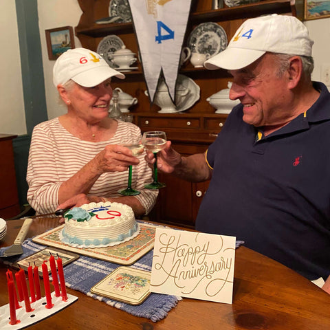 Anniversary celebration 64 years together