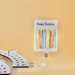 Close up Stadium Clip for birthday party decorations Celebration Stadium candle holders