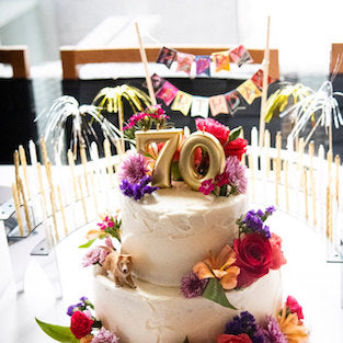 70th Birthday Party Decoration, Customer Review Photo
