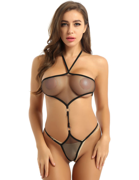 Intimate See Through Bodysuit lingerie 25.00 Fashion Play