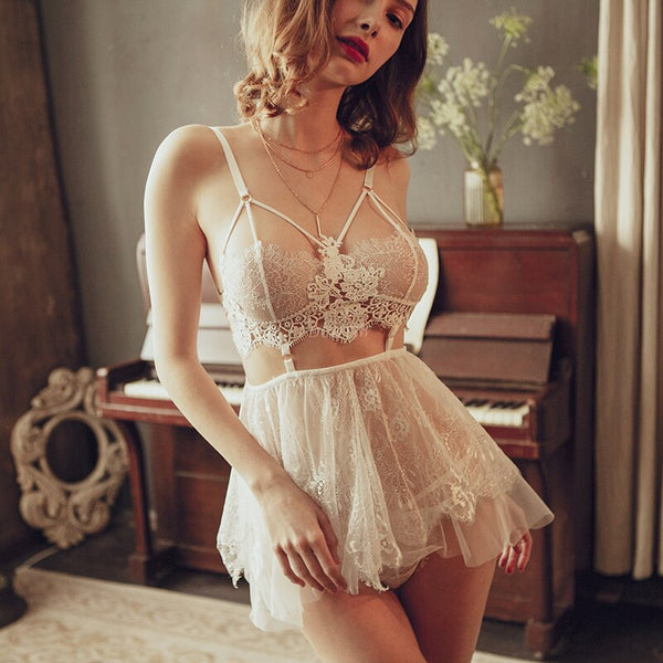 Flower Lace Nightgown