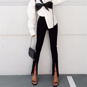 Zip Bottom Dress Pants