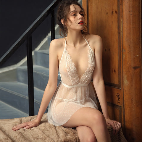 Transparent Babydoll Nightdress
