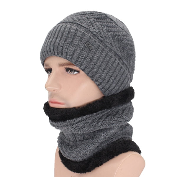 Knitted Beanie & Neck Warmer  18.00 Fashion Play