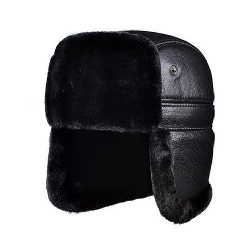 Genuine Leather Bomber Hat  38.00 Fashion Play