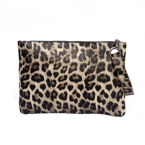 Leopard Print Wristlet Bag  20.00 Fashion Play