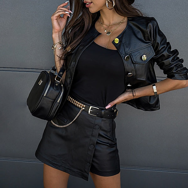 Leather Jacket  51.00 Fashion Play