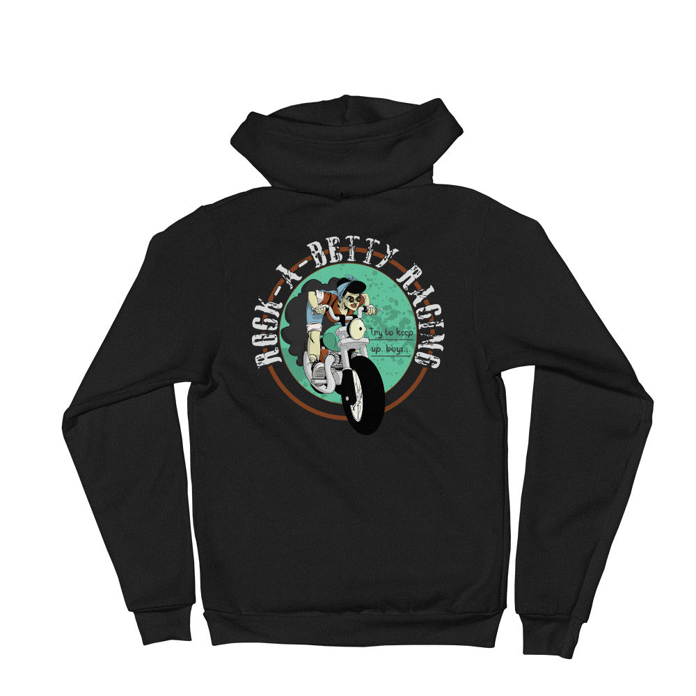 Rock-A-Betty Zipped Hoodie