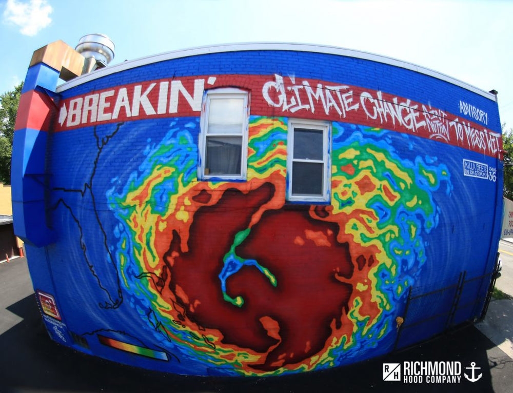 Climate Change Ain't Nothing To Mess With by Cody Prez x Staten Island Arts