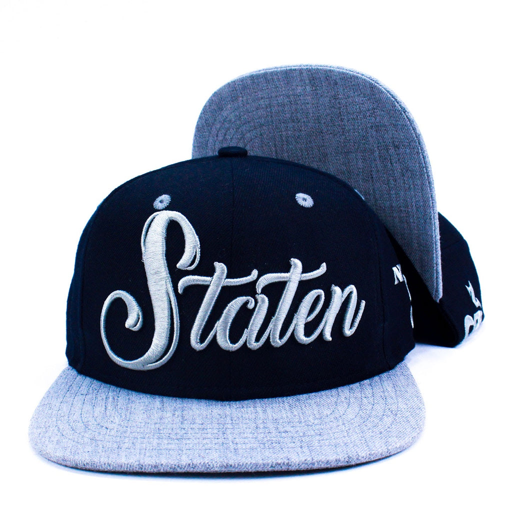 Staten Snapback - Shadowboxing - Black/Grey