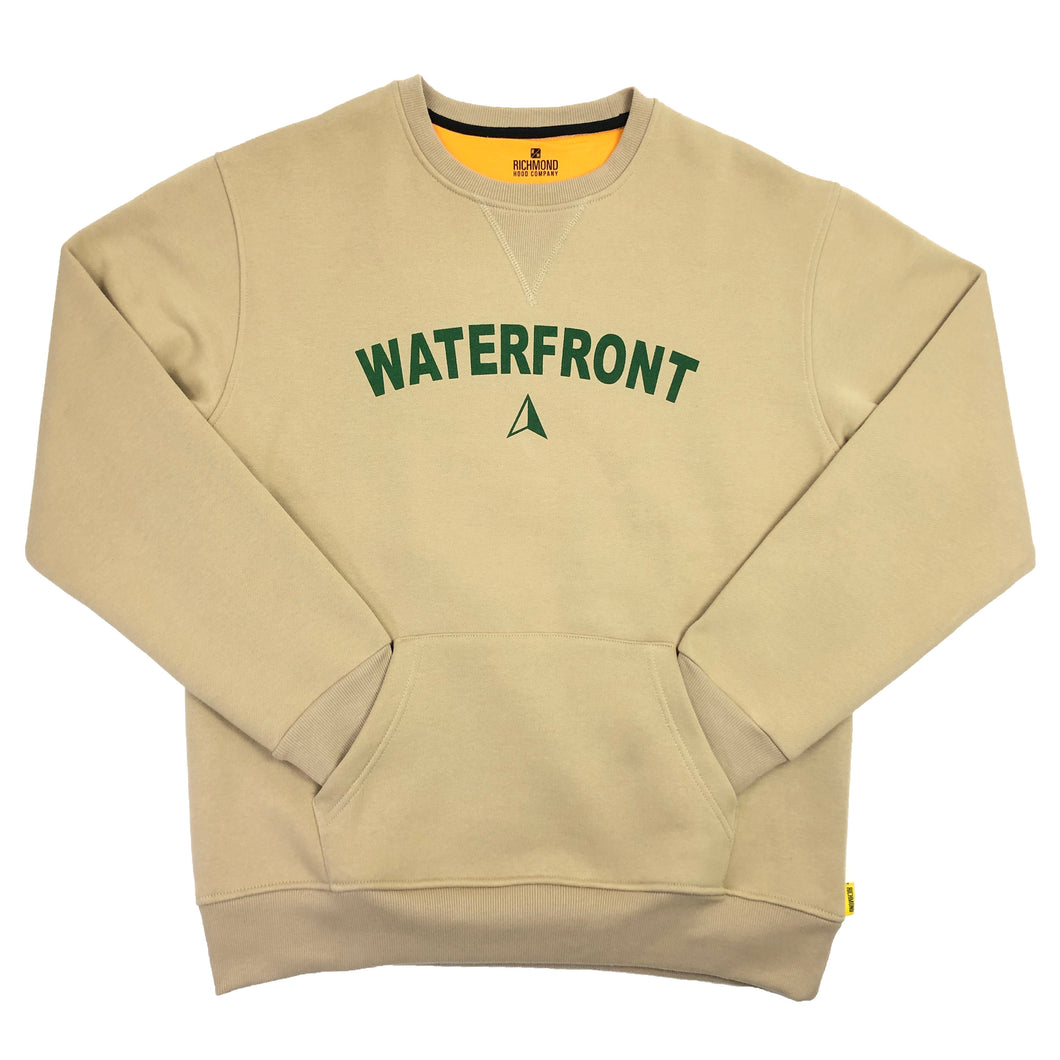 Waterfront Crewneck - Khaki