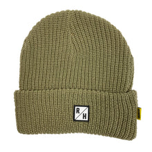 Load image into Gallery viewer, Anchor Beanie - Olive/Orange