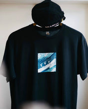 Load image into Gallery viewer, Tempest T Shirt - Black/Multi - Boat & Bridge
