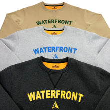 Load image into Gallery viewer, Waterfront Crewneck - Heather