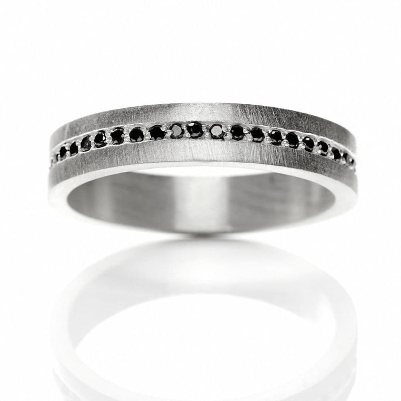 Cosmos 627-BL sterling sølv ring