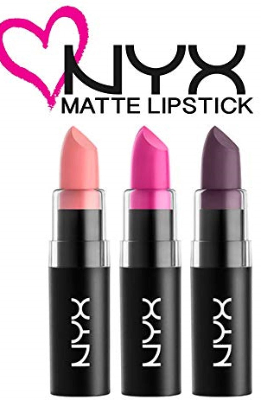 Matte Lipstick 3pc. Set