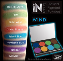 Load image into Gallery viewer, iNtense Pro Pressed Pigments 8 Color Palette - Wind
