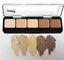 Load image into Gallery viewer, HD Glam Creme Foundation Palette- Highlite/Countour