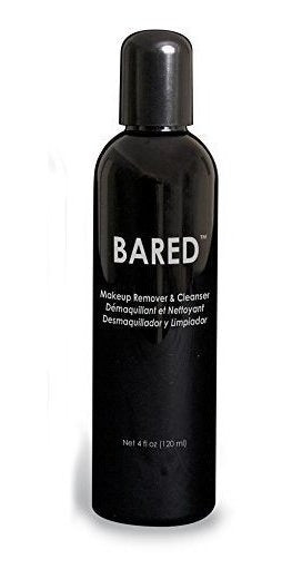 BARED Makeup Remover and Cleanser 4oz