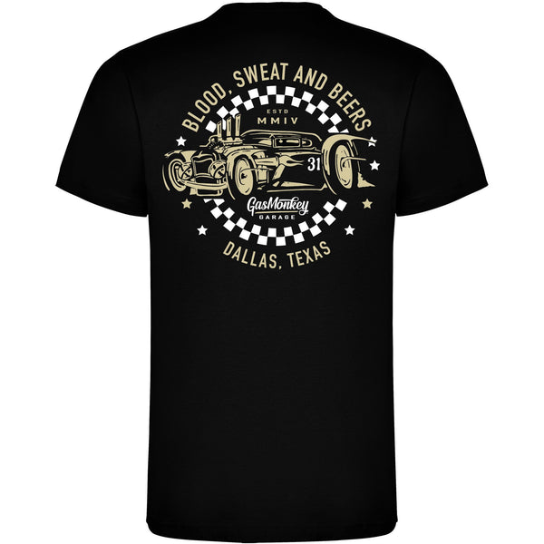 Gas Monkeys tee black