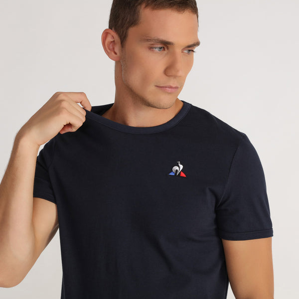 ESSENTIELS T-SHIRT-Navy