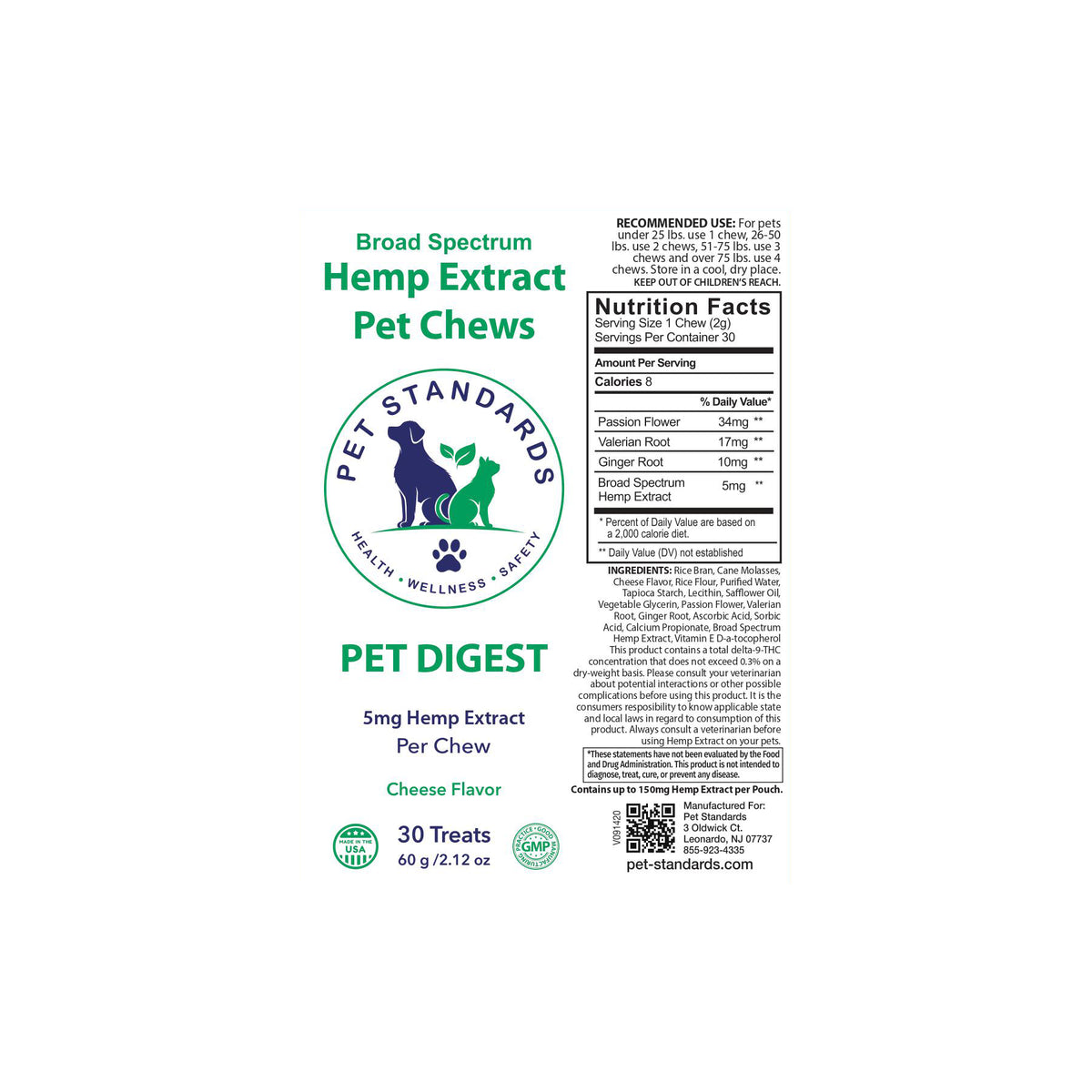 Hemp Chews for Dogs - Digest