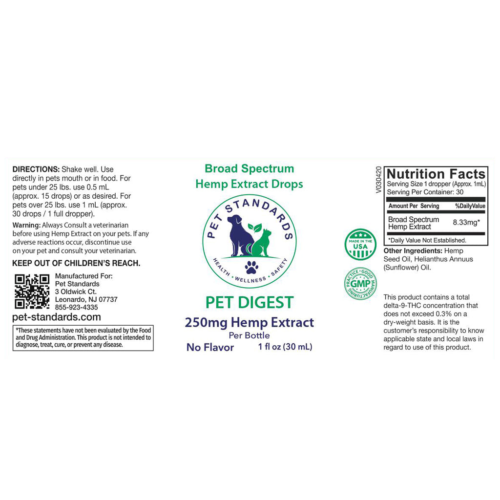 Hemp Oil for Dogs - Digest