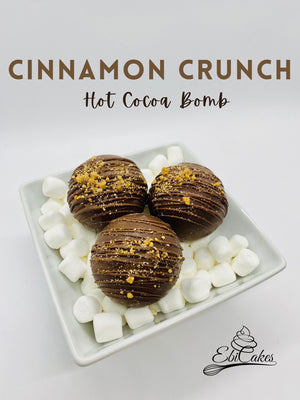 Cinnamon Crunch Hot Cocoa Bomb