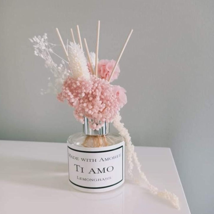 Add on - Everlasting Flowers with Reed Diffuser