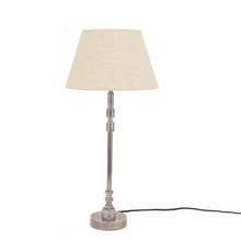 Load image into Gallery viewer, Hele Silver Table Lamp