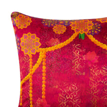 Load image into Gallery viewer, Anarkali LED Pink Cushion Cover