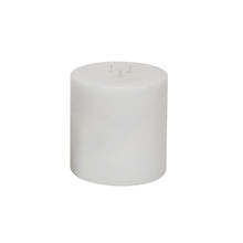"Load image into Gallery viewer, White Pillar Candle 6"" x 6"""