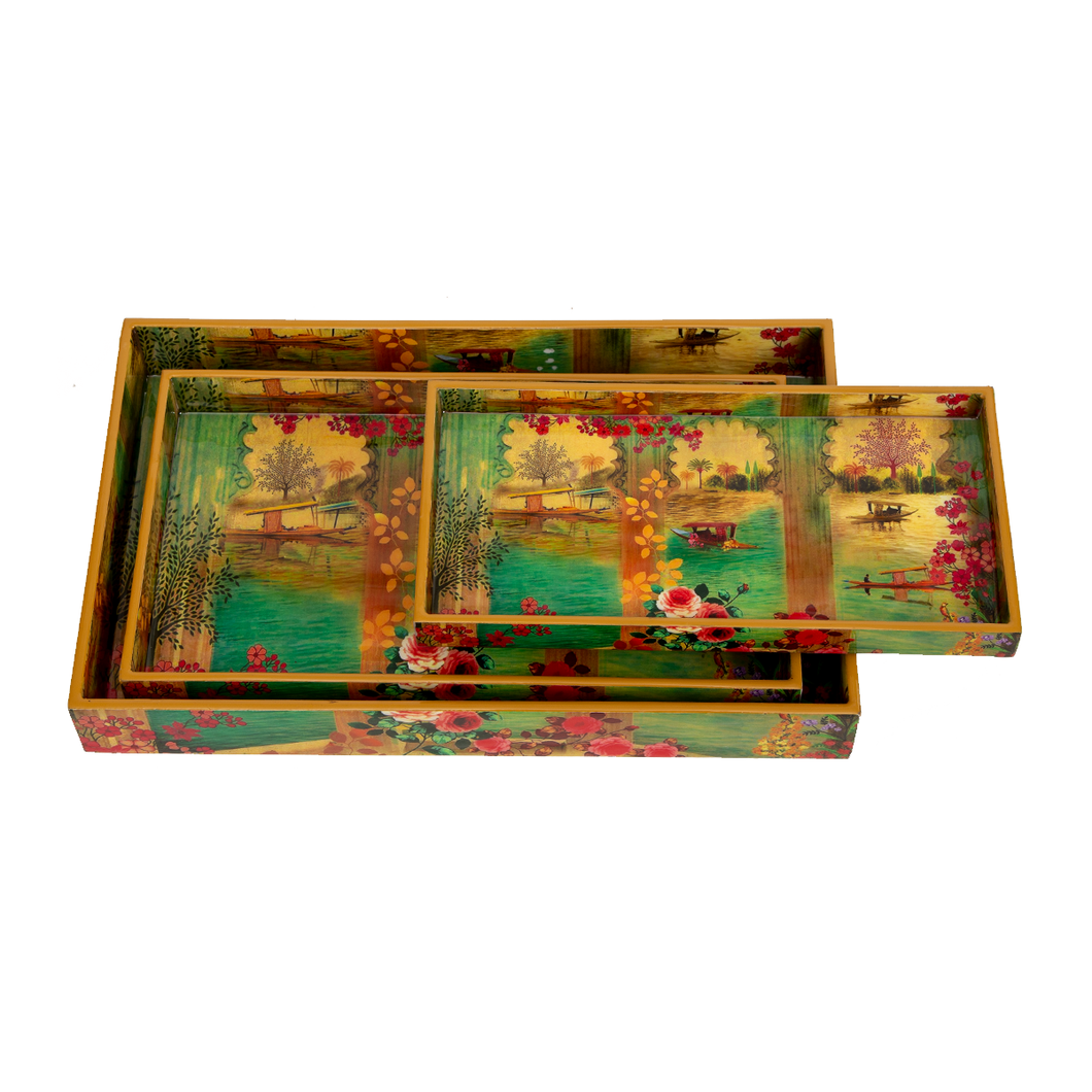 Logan Serving Tray Set of 4