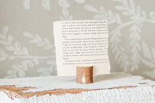 Load image into Gallery viewer, Wood Branch Card Holder from Live Oak Nest www.liveoaknest.com