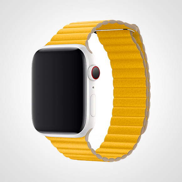 LEATHER LOOP LEMON
