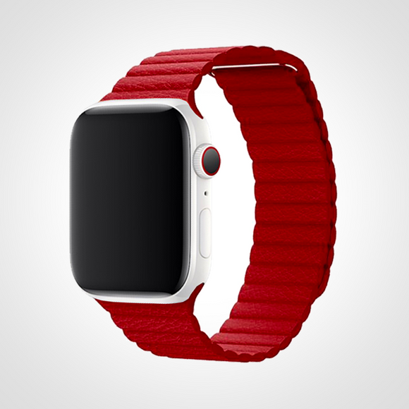 LEATHER LOOP RUBY
