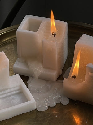 hand-crafted candles