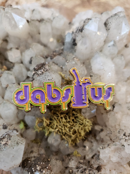 Dabs R Us Lapel Hat Pin