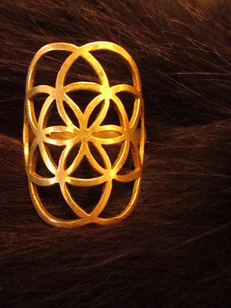Seed of Life Ring (Large)