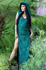 Storm Priestess Hooded Dress