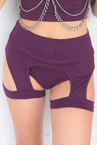 Leg Holster Booty Short Set