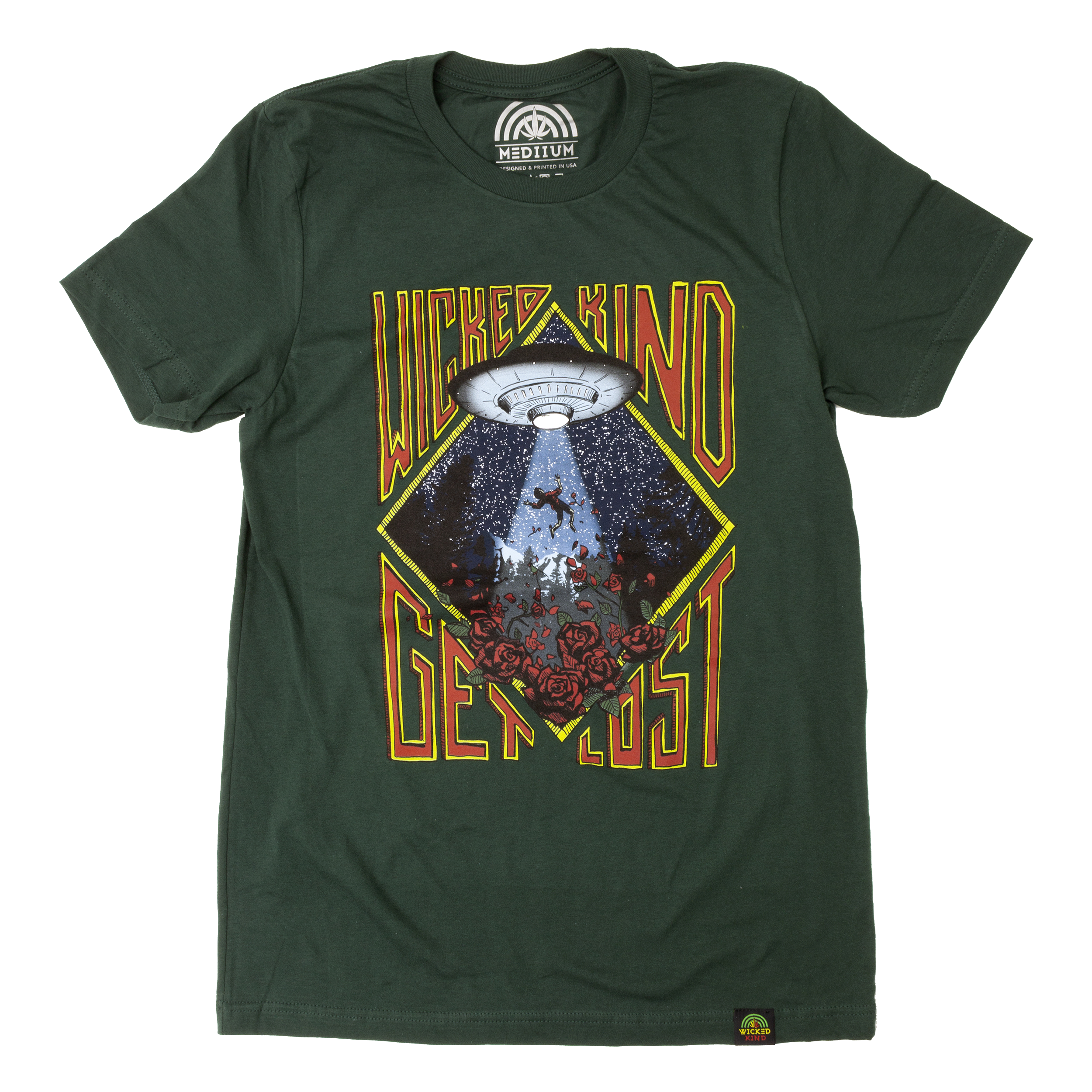 Get Lost Hand Drawn Forest T-shirt