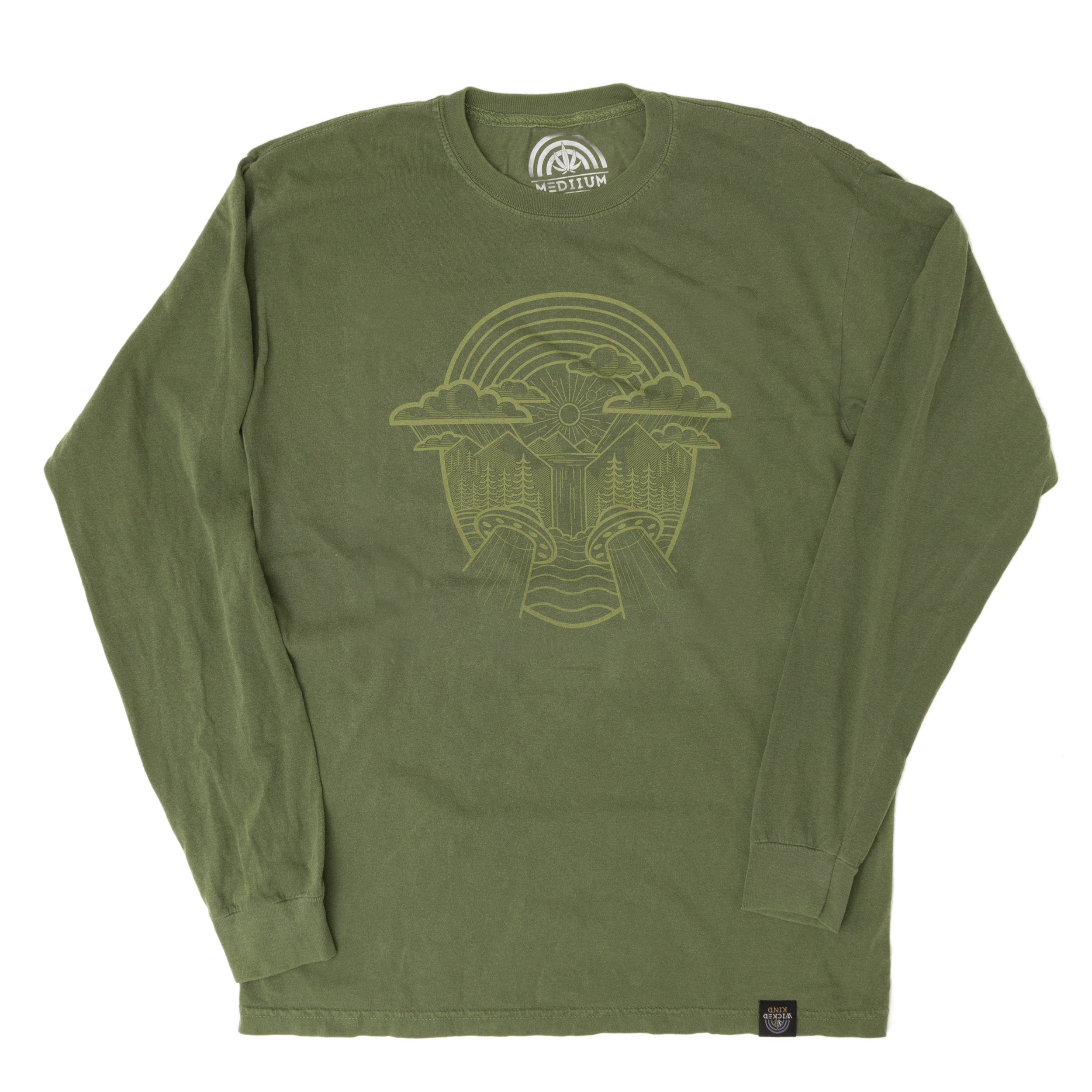 Waterfall Green Long Sleeve