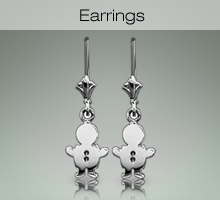 Sterling Silver Kids Earrings