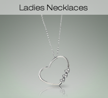 Sterling Silver Ladies Necklaces