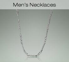 Sterling Silver Men's Necklaces