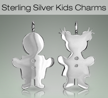 Sterling Silver Kids Charms