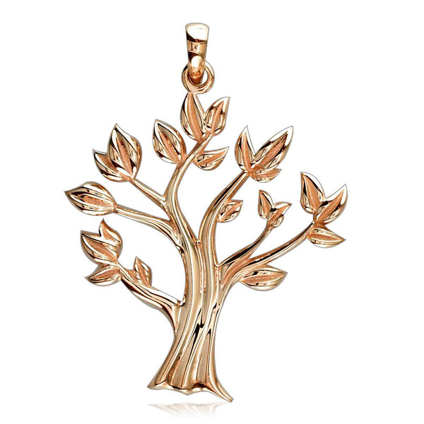 Tree Of Life Charm in 14K Pink, Rose Gold