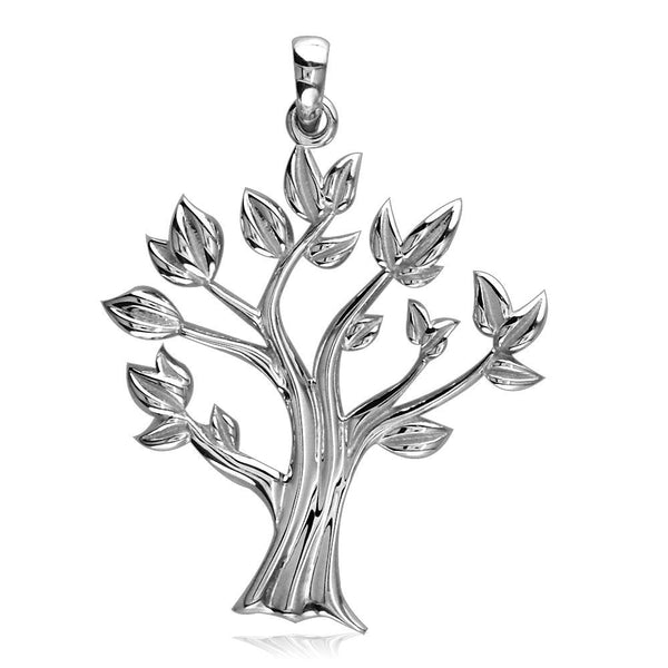 Tree Of Life Charm in 18K White gold